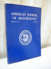 AMERICAN JOURNAL of ARCHAEOLOGY 1975 N°4