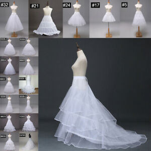 Wedding Bridal Party Petticoat Slips Crinoline Underskirt Under Dress Gown Skirt