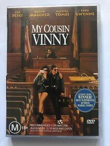 My Cousin Vinny (1992, Region 4 DVD, Joe Pesci, Marisa Tomei)