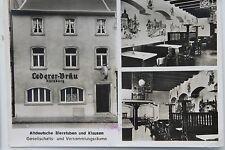 10275 AK Nürnberg Lederer Bräu Altdeut. Bierstube Hauptstr. 33, Am AH-Platz 1940