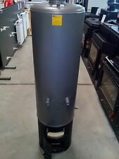 Solid Fuel Water Heater Floor Mount Vertical Wood Burning Boiler SILISTRA 80 Ltr