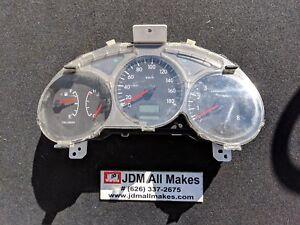 05-08 JDM Subaru Forester XT SG5 STi MANUAL Trans Gauge Cluster Speedometer OEM