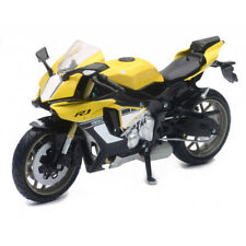 MODELLINO YAMAHA YZF-R1 M 1/12 MOTO GIALLO YELLOW R1 NEW RAY DIE CAST