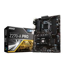 MSI Z270A Pro ATX Mainboard Sockel 1151 Kaby Lake