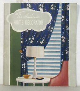 The Authentic Home Decorator, 1935 Sherwin-Williams Paints brochure