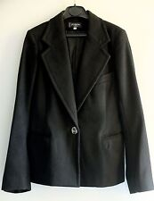 100% Luxury Cashmere Designer Tailor Fitted Blazer Jacket by JOSEPH; rrp £550