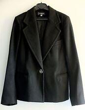 100% cachemira de lujo diseñador Sastre Ajustada Blazer Chaqueta por Joseph; Rrp £ 550