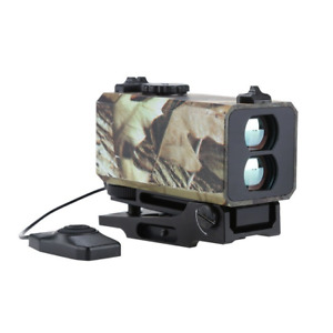 700m Mini Tactical Outdoor Hunting Rangefinder Scope w/ Rail Mount