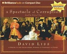 A Spectacle of Corruption 2 by David Liss (2005, CD, Abridged)