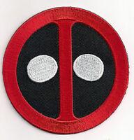 "Deadpool  Logo 3.5""  Patch- Dead Pool-FREE S&H (MCPA-DP-01)"