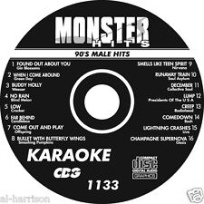KARAOKE MONSTER HITS CD+G 90's MALE HITS  #1133