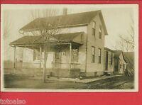 RPPC GALION OHIO SICKMILLER HOUSE 1909 CAROLYN HAUSER HUNTINGTON INDIANA IN
