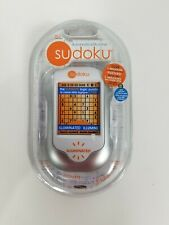 Sudoku Handheld Electronic Game w/Stylus Techno Source NOS Rare 20700
