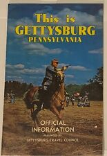 """""""This is Gettysburg Pennsylvania"""" Official Information - Magazine - VINTAGE 1969"""