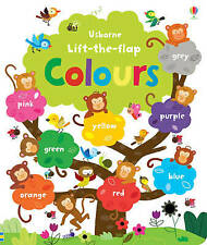 Lift the Flap Colours Book by Felicity Brooks (Board Book, 2013)
