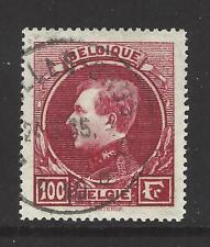 BELGIUM,  # 215a, Used,  KING ALBERT