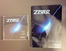 Return to Zork w/ Hint Guide Book PC 1993 Vintage