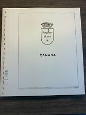 Used Lindner Canada Hingeless Empty Pages 1851-1971 with BoB Retail $200