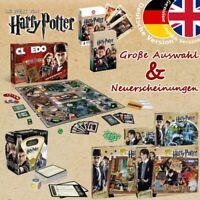 Harry Potter Spiel Brettspiel Puzzle Kartenspiel Quiz Trivial Pursuit Cluedo NEU