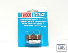PL-10W Peco Turnout Motor Low Amps from N to O and SM-32