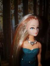 Pippa Dawn Doll choker/necklace/Tiara crystal gold style  jewellry