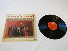 Bob Booker & George Foster You Don't Have to be Jewish LP Album record vinyl*^