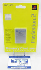 Carte Mémoire 8mb Sony Playstation 2 PStwo officielle silver - Playstation 2