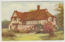 Suffolk postcard - The Manor House, Flatford