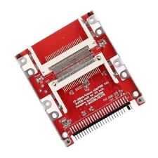 "Dual CF Compact Flash to 44 pin IDE 2.5"" Male Adapter - UK seller"