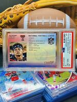 Patrick Mahomes RC🔥2017 PSA Rookie🥎No Auto💎GEM🌈RARE🏈Chiefs📈POP🏆Brady🐐1💥