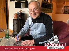 Autogrammkarte Jakob Drescher - Kurt Landauer Stiftung - FC Bayern München