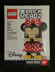 LEGO BrickHeadz Disney Minnie Mouse 41625 Retired Rare Sealed NEW