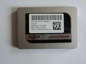 "CRUCIAL MX500 2.5"" 7 mm SATA-III ssd 250 Gb"