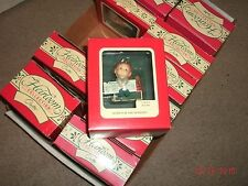 1991 Carlton Cards HOME FOR THE HOLIDAYS(Elf sitting on MatchBox)Ornament