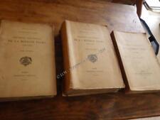 1910.Documents mission Tilho.Tchad Niger Afrique.3/3.Jean Tilho.signed.Gouraud