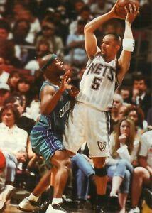 Jason Kidd--New Jersey Nets--Glossy Color 5x7 Photo