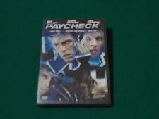 Paycheck Regia di John Woo dvd