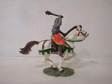 Figurine starlux série moyen age : cavalier 6110 masse d'armes