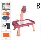 Children Led Projector Art Drawing Table Toys Kids Painting Board Desk Arts Craf