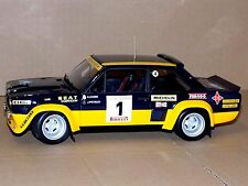 FIAT 131 ABARTH OLIO FIAT WINNER COSTA BRAVA 1979 AZANINI  KYOSHO  08372D  1:18