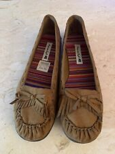 American Eagle By Payless 7 1/2 M Tan Style Cognac Dakota. Moccasin Style Shoes