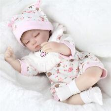 Baby Girl Simulation Newborn Infant Dolls Silicone Vinyl Reborn Baby Doll