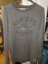 New York Rangers Hockey Gray Pullover Sweatshirt XL NWOT