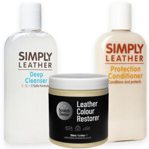 CREAM Leather Cleaner, Conditioner & Restorer for Sofa, Bags, Shoes, Jackets etc