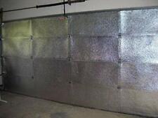 Two Car Garage Door Insulation Kit - Foil Interior Finish Foam Core (120 sq ft)