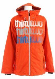 THIRTYTWO Men's SHAKEDOWN Insulated Jacket - Orange - XL - NWT
