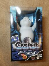 """1994 Tyco Casper The Friendly Ghost Fatso Tomato Burping Action Toy 10"""" Unopened"""