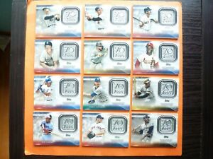 2021 Topps Series 1 & 2, 70th Anniversary Patch, Complete Your Set, U-Pick