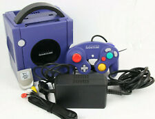 Nintendo Gamecube Konsole Lila Purple + Zubehörpaket Controller Memory Card