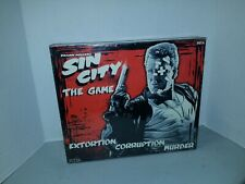 Frank Millers Sin City The Game Meca Sealed Original Box Movie Board Game